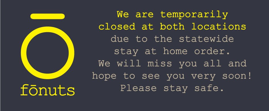 closed for stay at home order